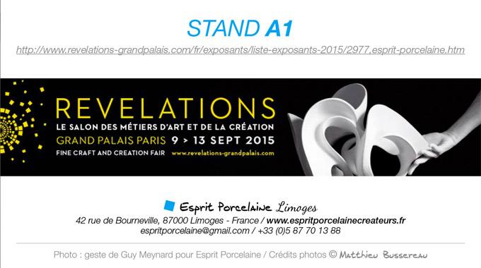 Salon Révélations | Du 9 Au 13 Septembre 2015, à Paris