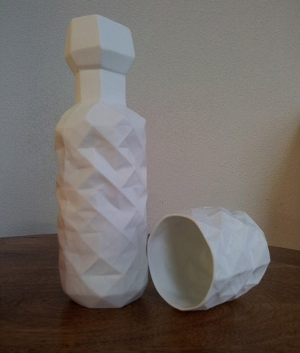 Carafe Et Gobelet Origami
