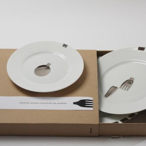 Esprit Porcelaine. Louise Pédel Concept LA RENCONTRE