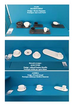 Communiqué de presse Porcelain Coffee cup
