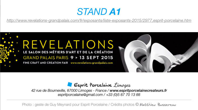 Salon Révélations | September 2015, Paris