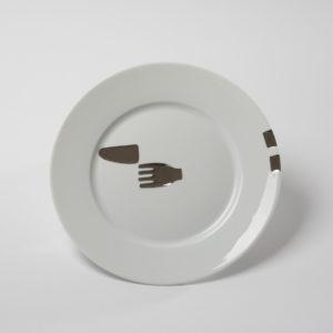 Assiette Fourchette/couteau – La Rencontre