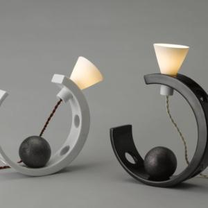 Lampe  Half-Moon B