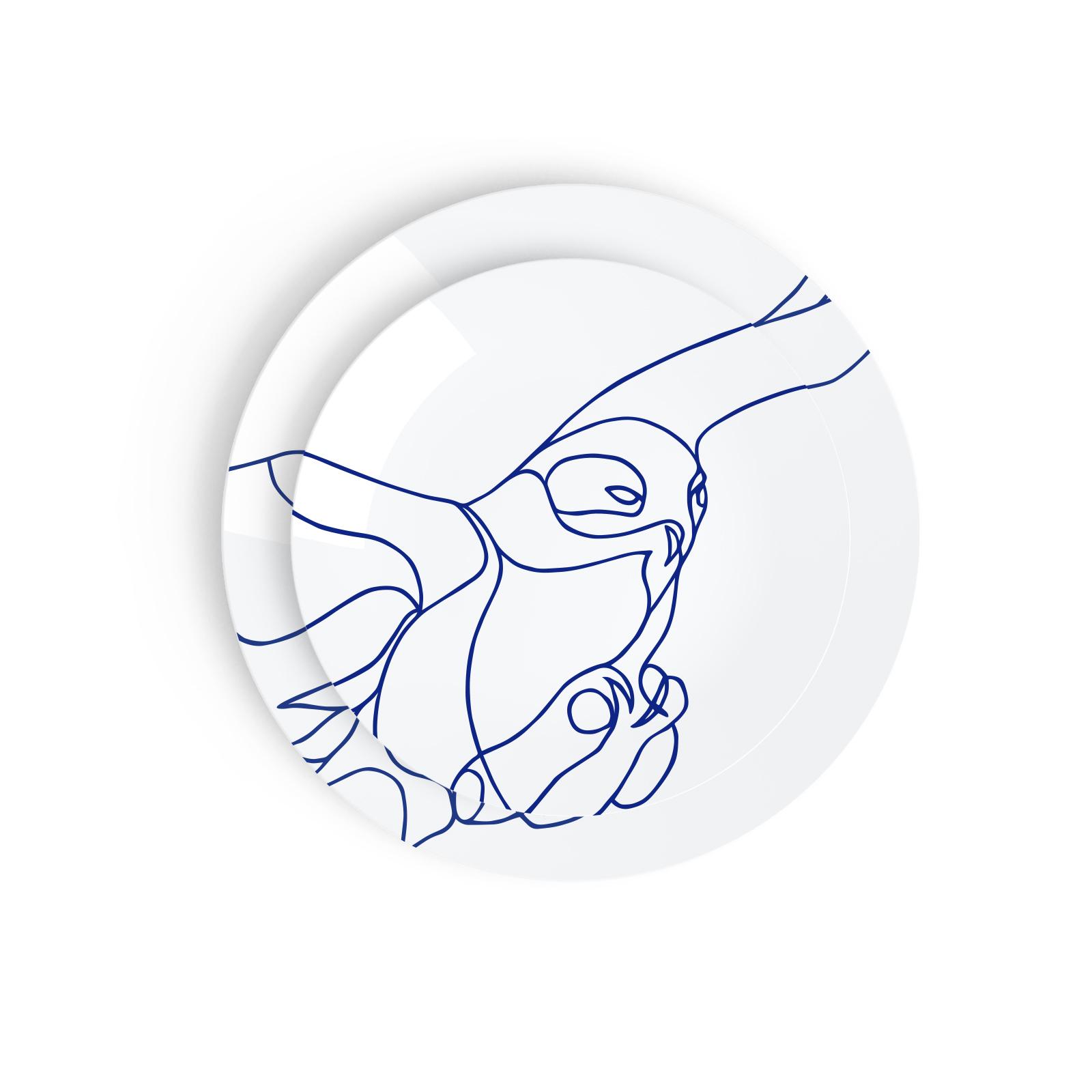Tes Ted Artic Beasts Artic Owl - Esprit Porcelaine, Porcelaine De Limoges