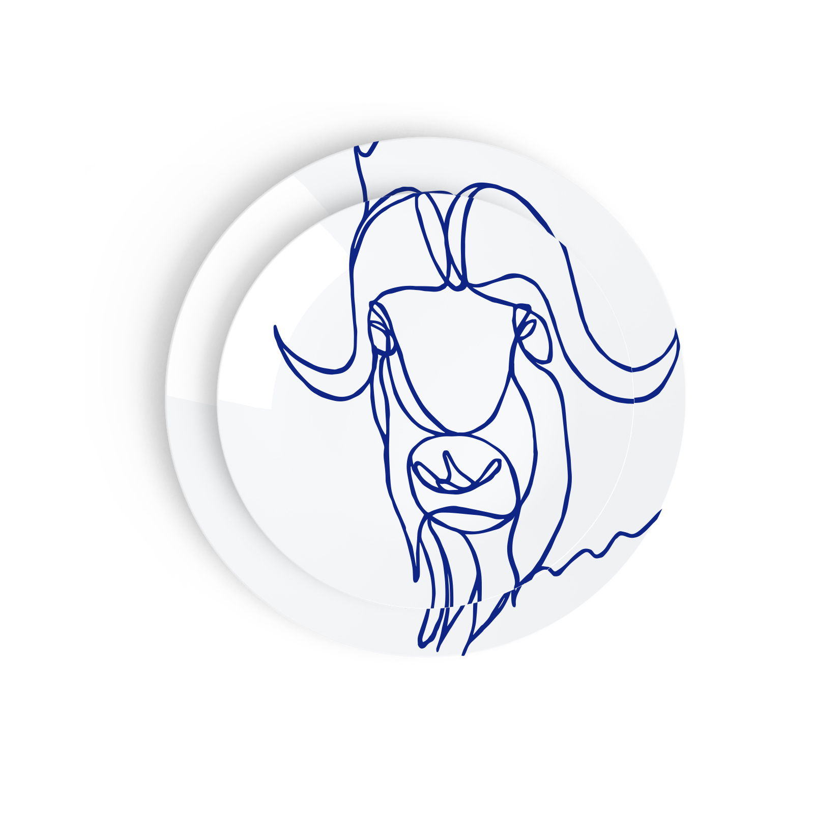 Tes Ted Artic Beasts Muskox - Esprit Porcelaine, Porcelaine De Limoges
