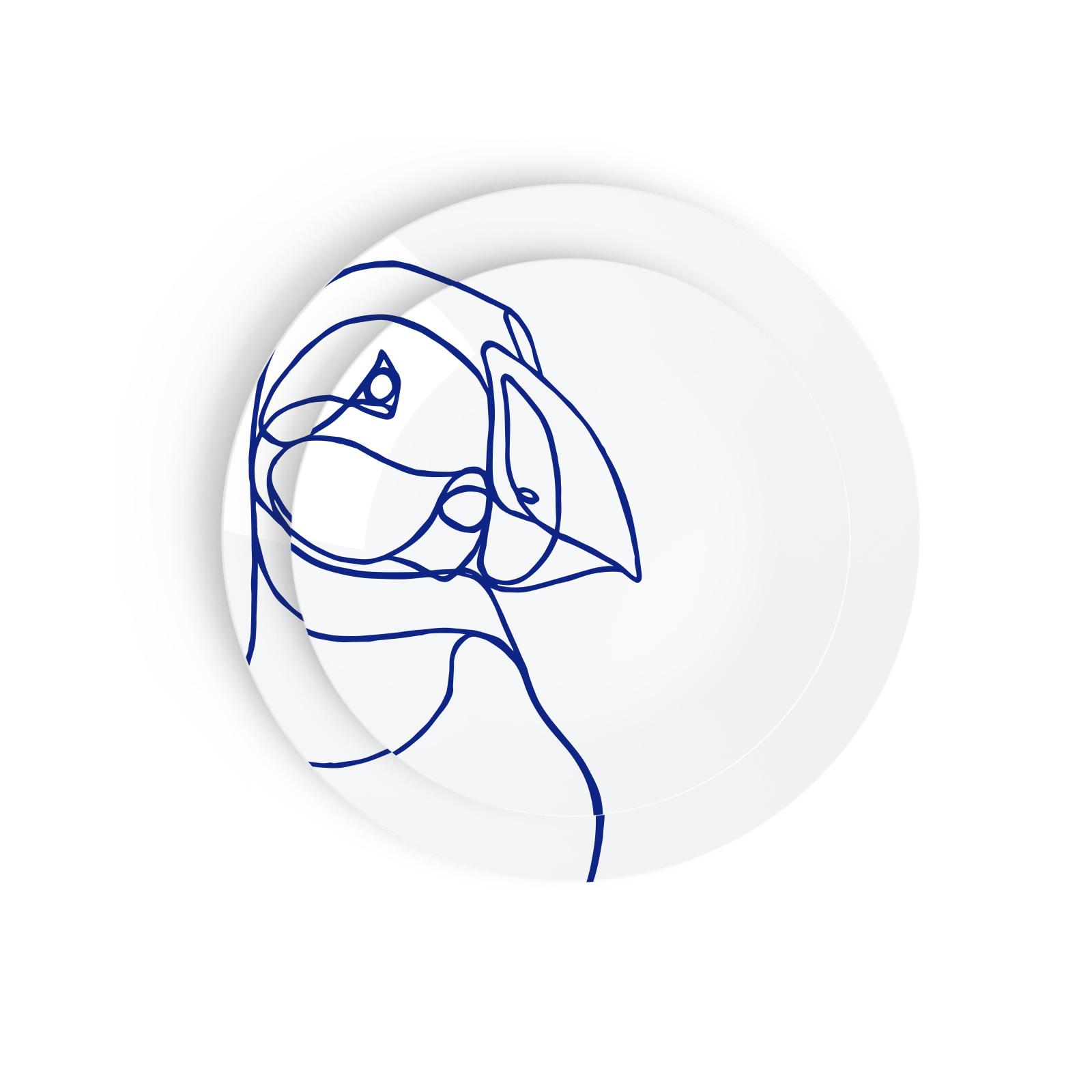 Tes Ted Artic Beasts Puffin - Esprit Porcelaine, Porcelaine De Limoges