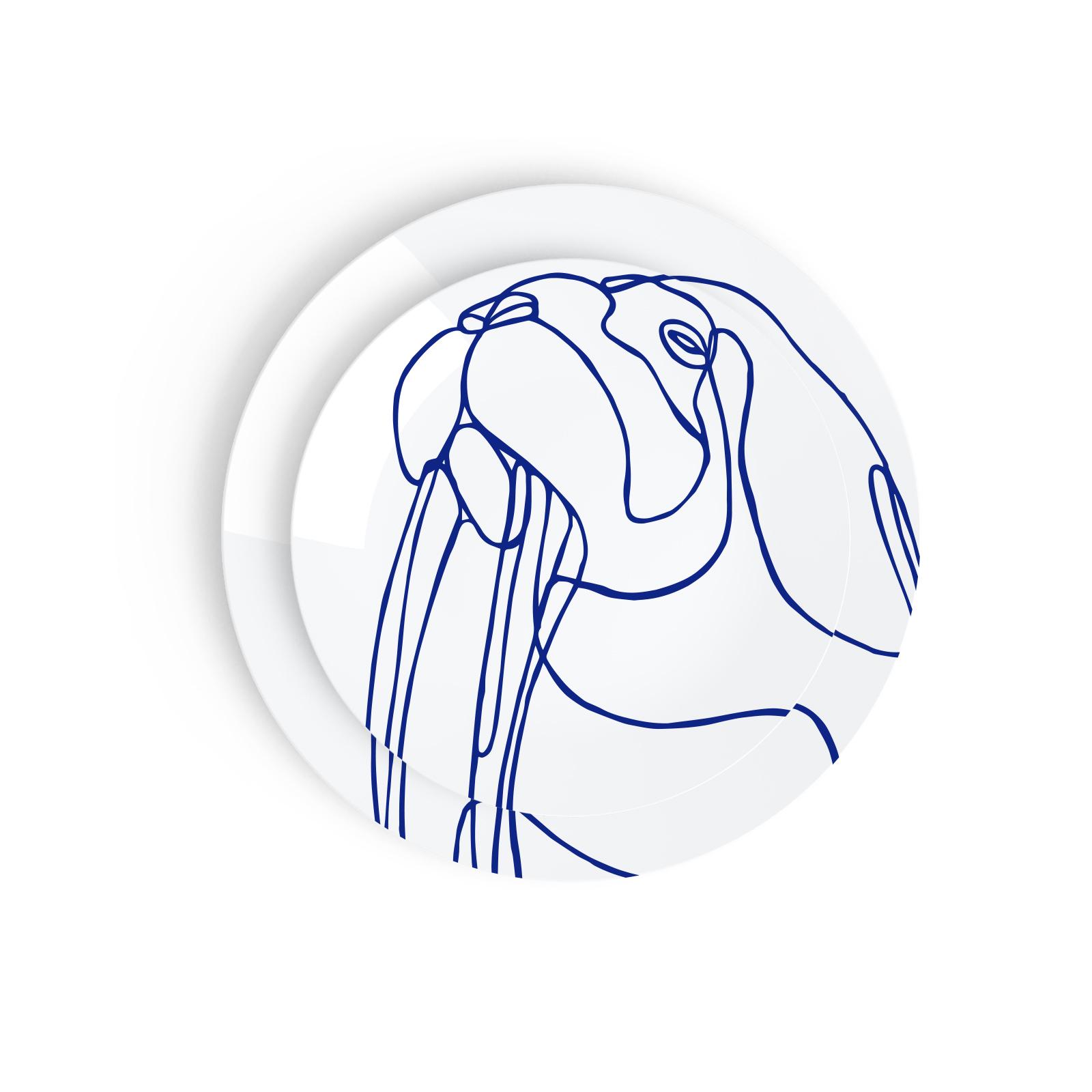 Tes Ted Artic Beasts Walrus - Esprit Porcelaine, Porcelaine De Limoges