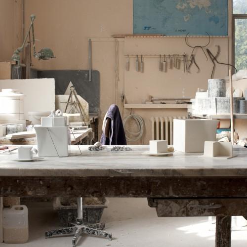Atelier De Modelage De La Manufacture Raynaud, Photo. Matthieu Bussereau