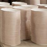 Photo Pièces en dégourdi, à la couleur rosée, Porcelaines de la Fabrique, photo. Matthieu Bussereau.