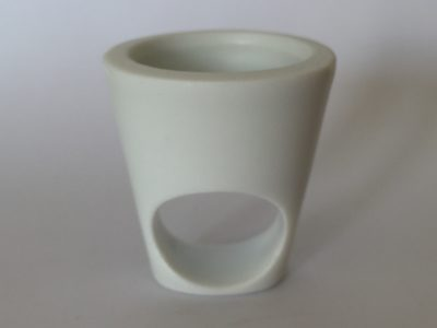 Bague Gazon Pot lisse, création Philippe et Laurence RATINAUD, membres d'Esprit Porcelaine