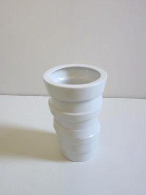 Porcelain Island, Collection de vase modulable par Guillaume Damry, membre d'Esprit Porcelaine