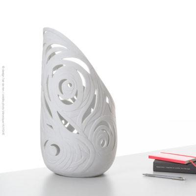 Luminaire Babylone, L'air de rien, Esprit porcelaine, créateur en porcelaine de Limoges