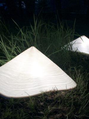 Luminaire Mole HIll S Création Jean-Baptiste Couty Esprit Porcelaine