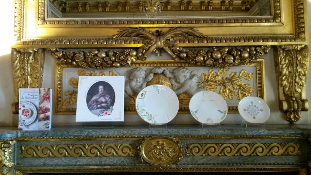Porcelaine pour Madame de Pompadour ensemble coffret