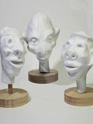 ïtiens en porcelaine de Limoges, par GUillaume Damry, Esprit Porcelaine