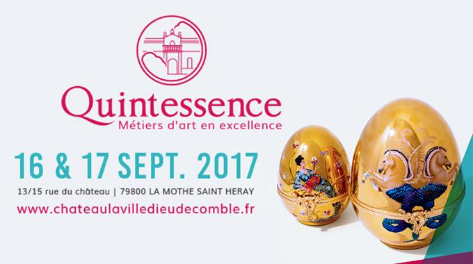 Exposition Quintessence Au Château De La Ville De Comblé Les 16 & 17 Septembre