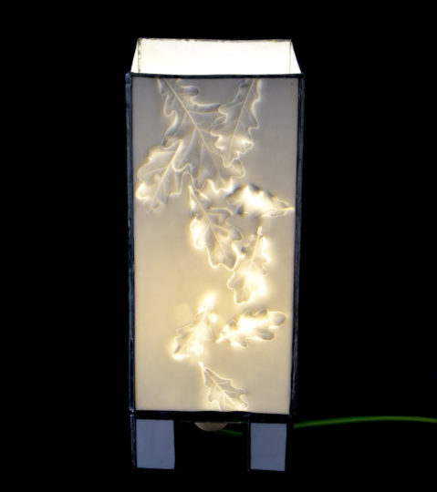 Oak Leaves Lamp